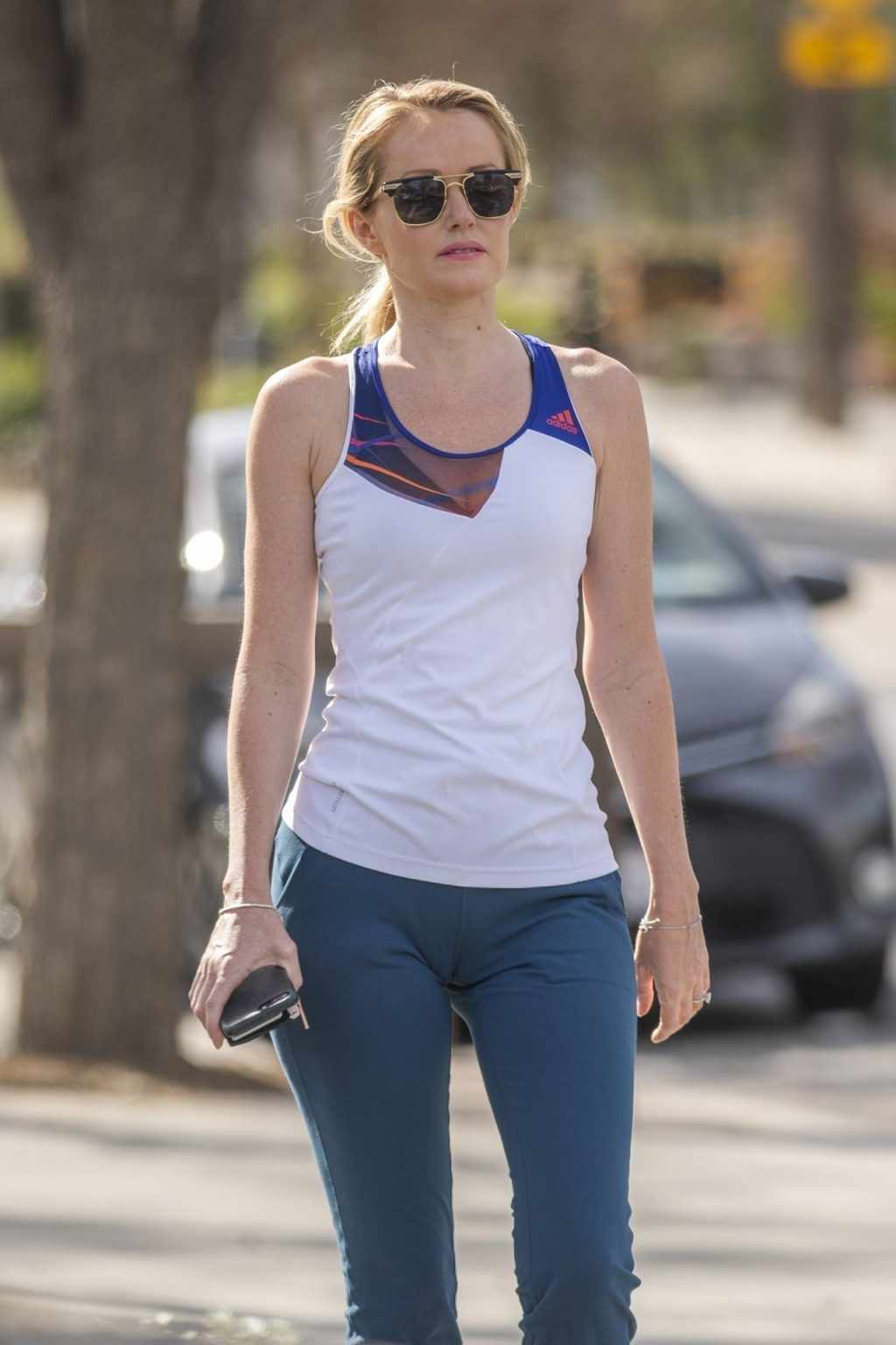 Hayley Roberts Hasselhoff Suffers a Wardrobe Malfunction While on Morning Jog (53 Photos)