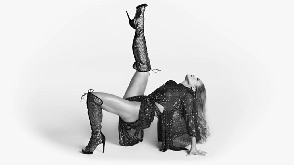 Jennifer Lopez Promotes Her Legs & Heels (6 Photos)