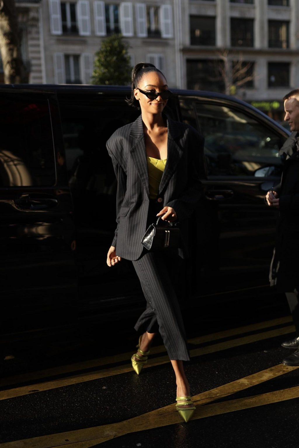 Jourdan Dunn Steps Out with Her Rumored Mystery Husband in Paris (34 Photos)