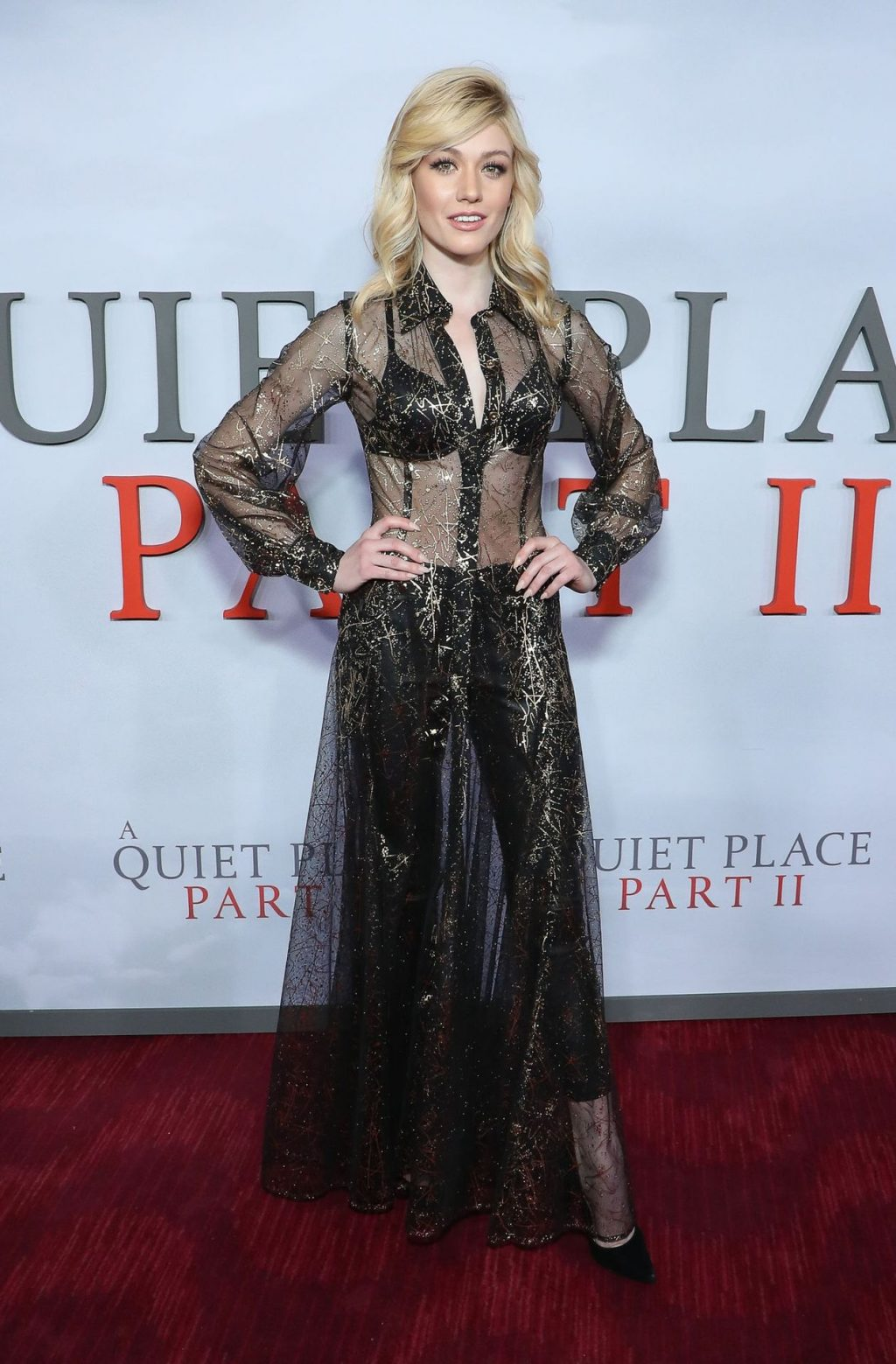 Katherine McNamara is Seen at the A Quiet Place Part II Premiere in New York (31 Photos)