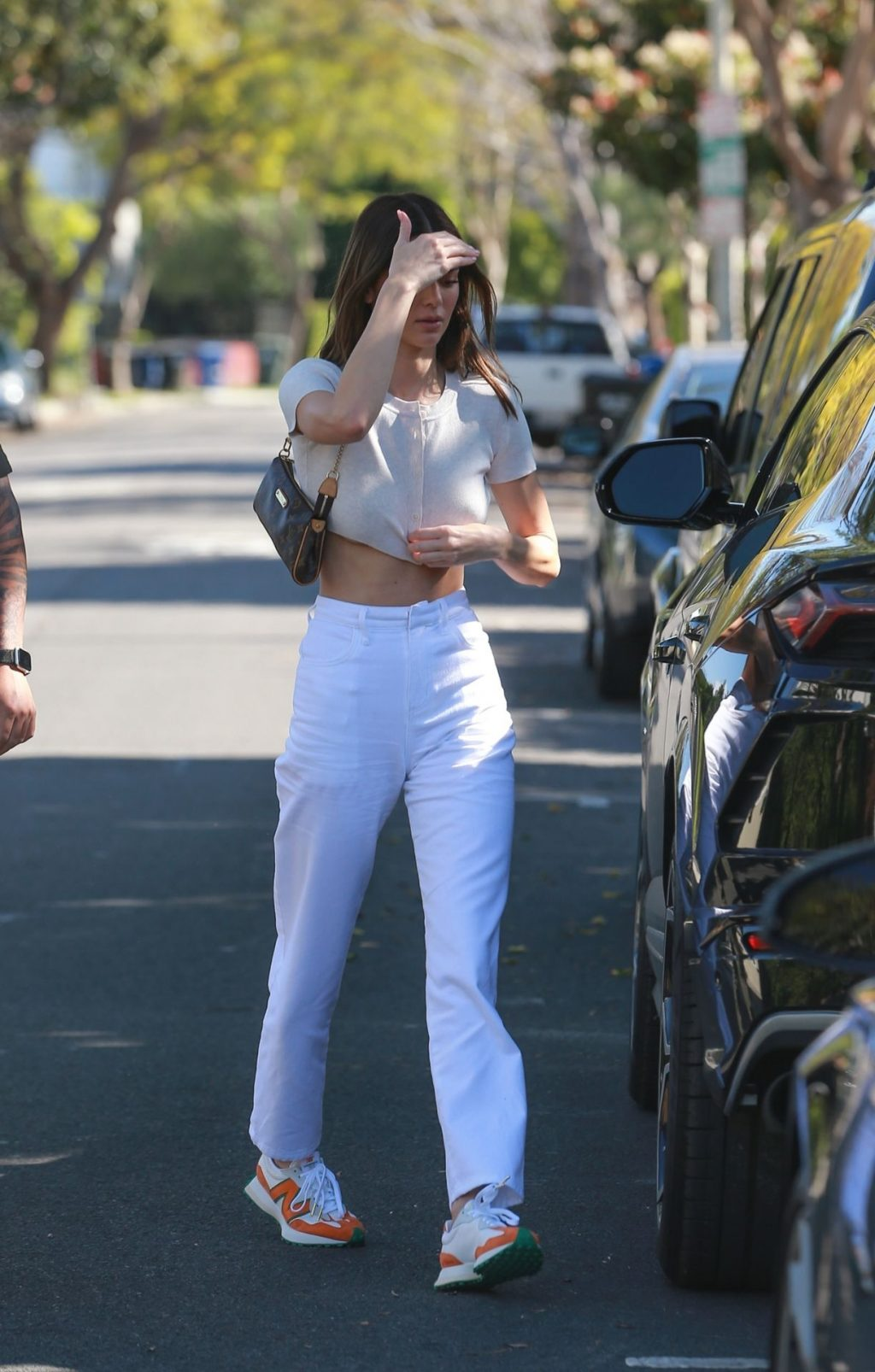 Kendall Jenner Puts Her Toned Tummy on Display for Lunch at Croft Alley (66 Photos)