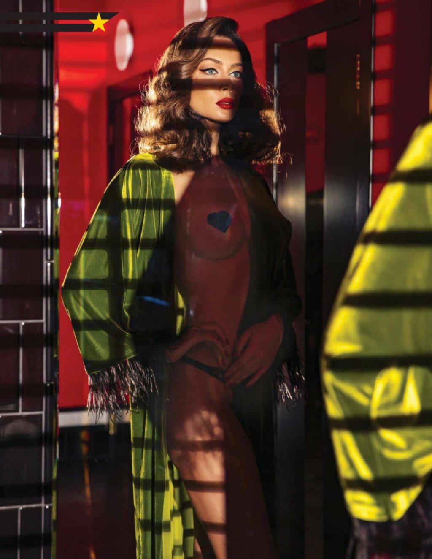 Nastasya Samburskaya Poses for Maxim Magazine (7 Photos)