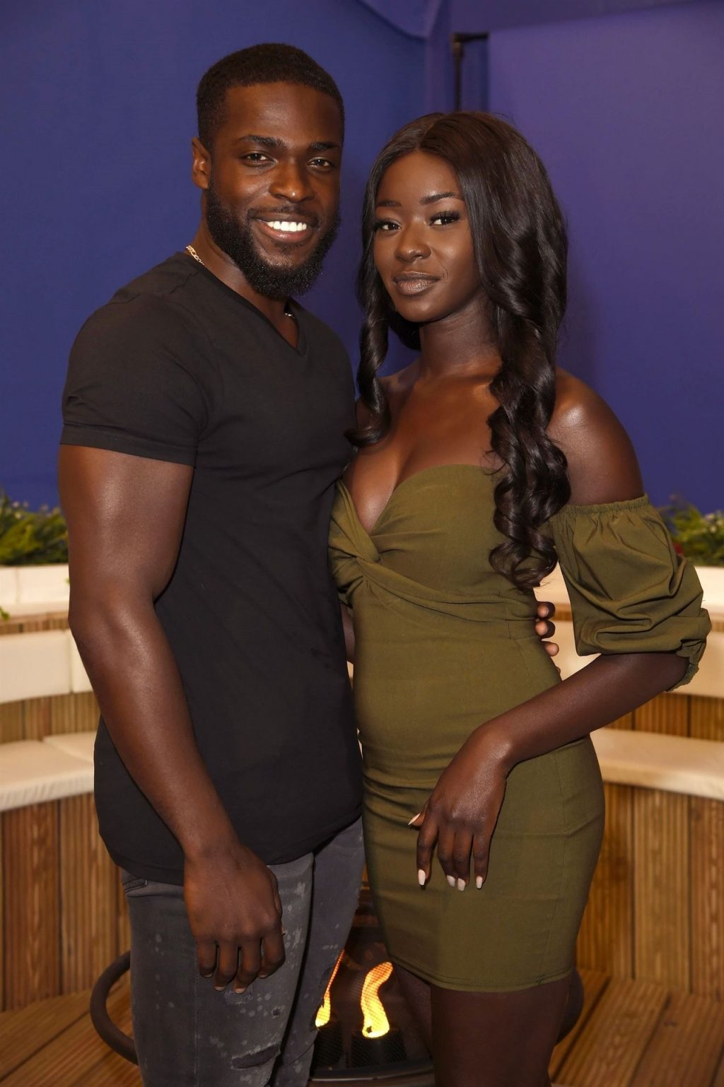 Mike Boateng and Priscilla Anyabu Pictured in Manchester (21 Photos)