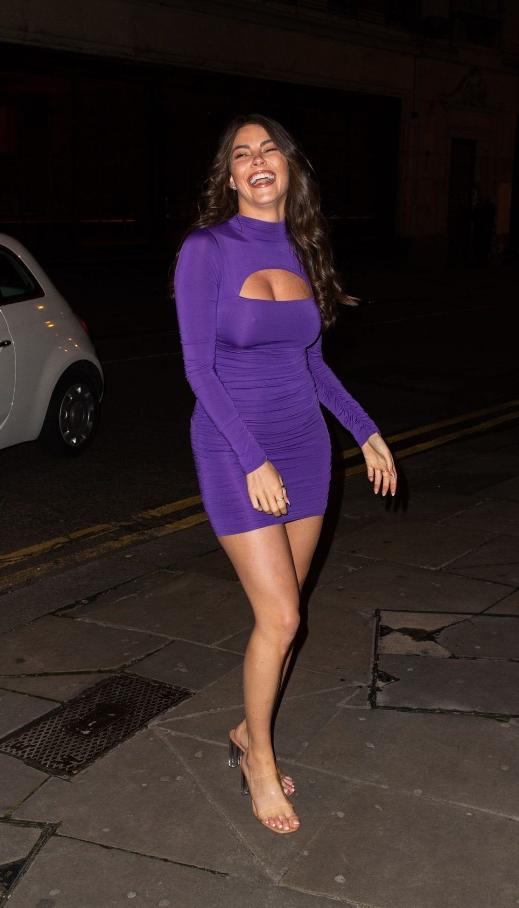 Sexy Rebecca Gormley Is Seen in Shoreditch (13 Photos)