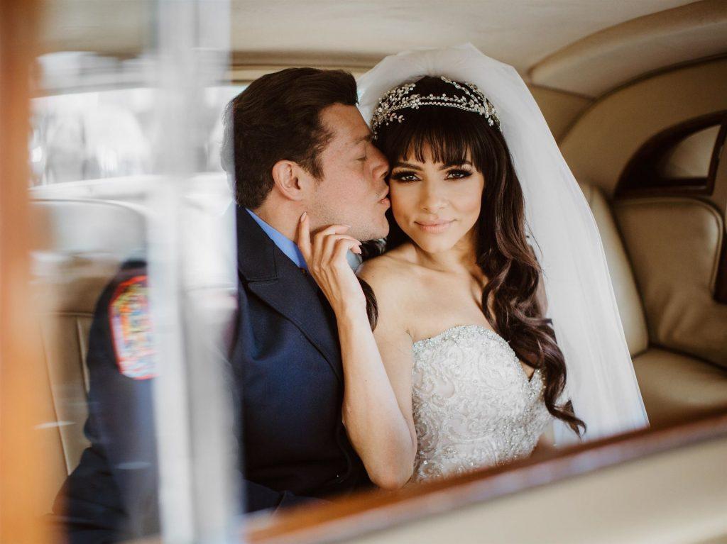 Roxanne Pallett Secretly Married American Firefighter Jason Carrion (26 Photos)