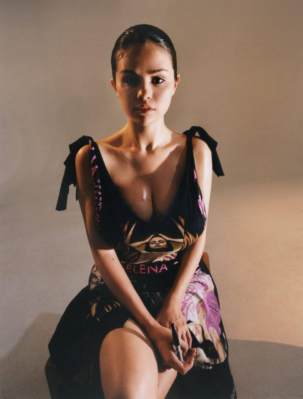 Selena Gomez Shows Her Body in a Photoshoot for Dazed Magazine (35 Photos)