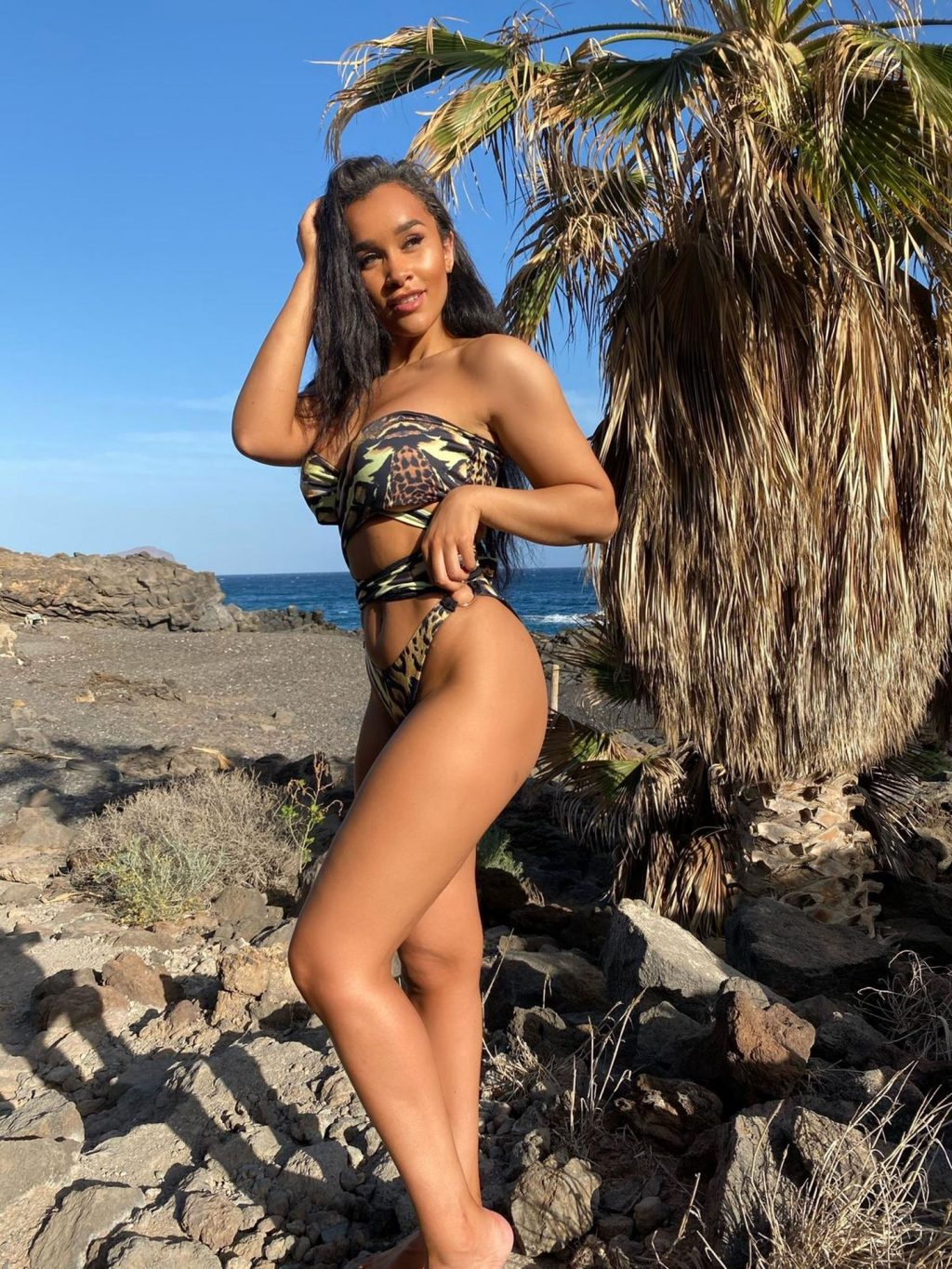 Sian Gabbidon Gets the Pulses Racing by Showcasing Her New Swimwear Collection (16 Photos)