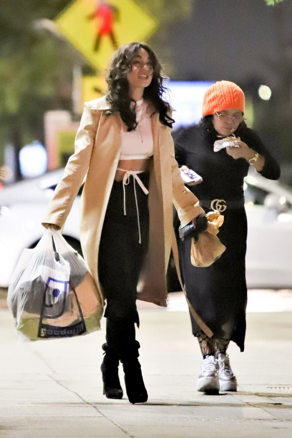 Vanessa Hudgens Goes Braless in Studio City (9 Photos)