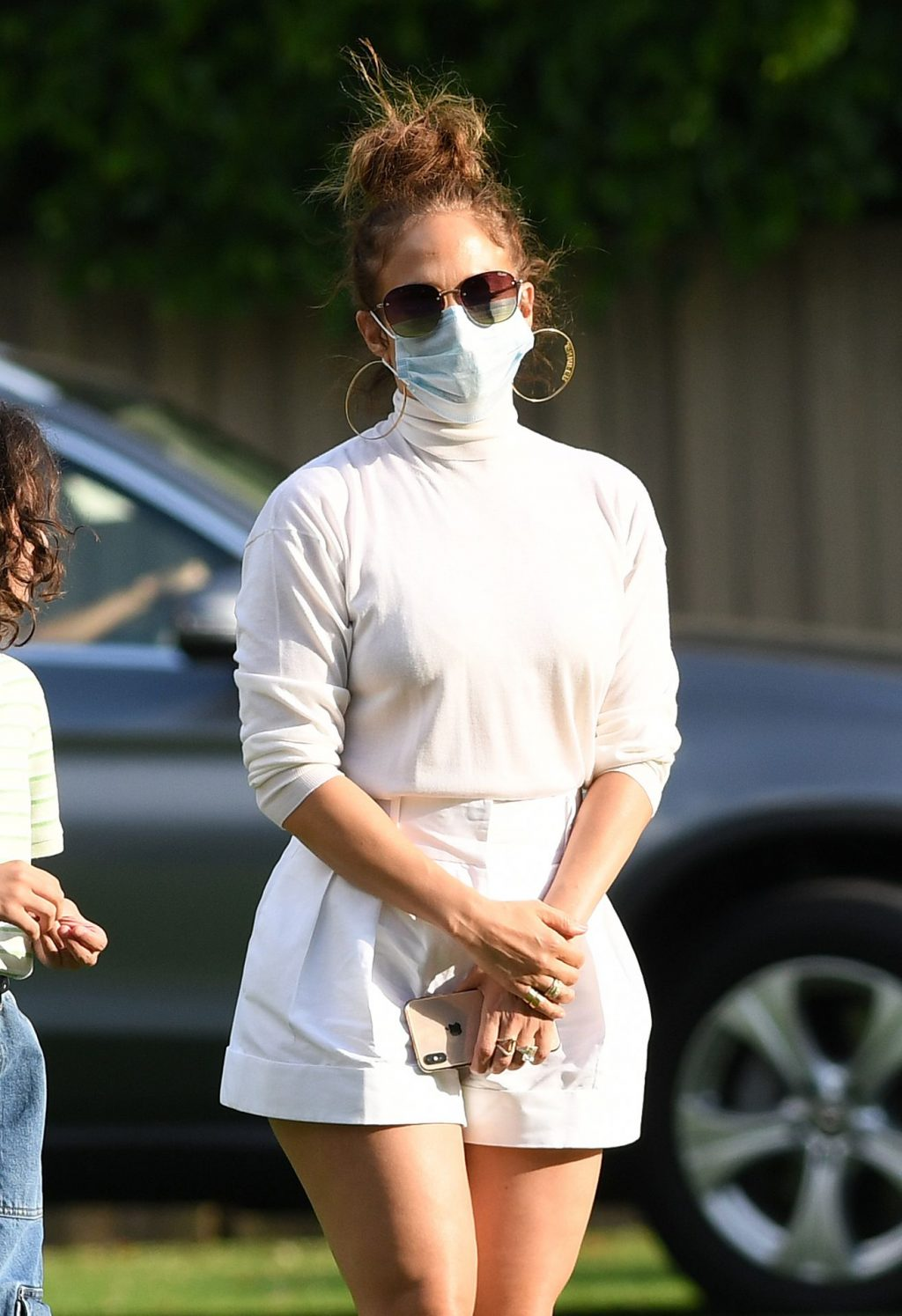 Jennifer Lopez Looks To Be Feeling The Heat in Her Turtleneck During Step-Daughter Ella Rodriguez's 12th Birthday Party (98 Photos)