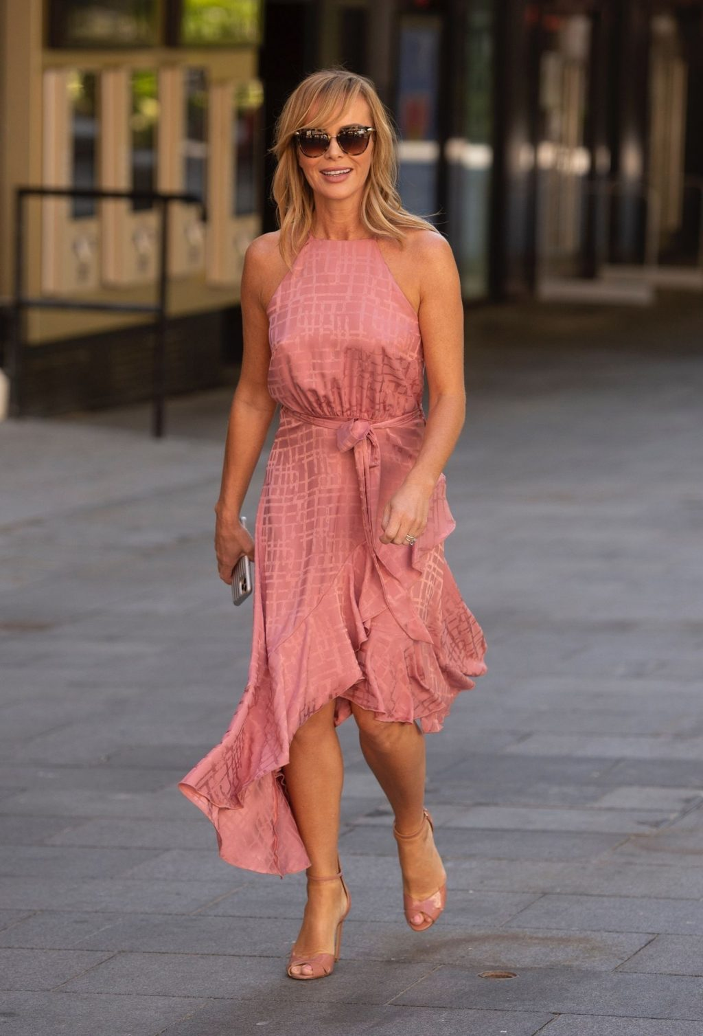 Amanda Holden Is Pictured While Leaving the Heart Radio Studios (43 Photos)