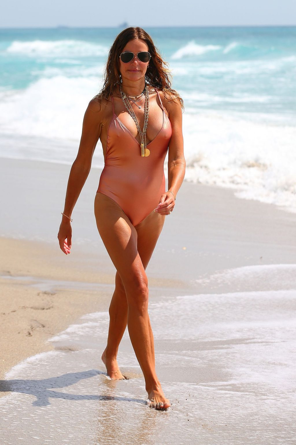 Kelly Bensimon Is Spotted on Worth Ave on Her Way to the Beach (38 Photos)