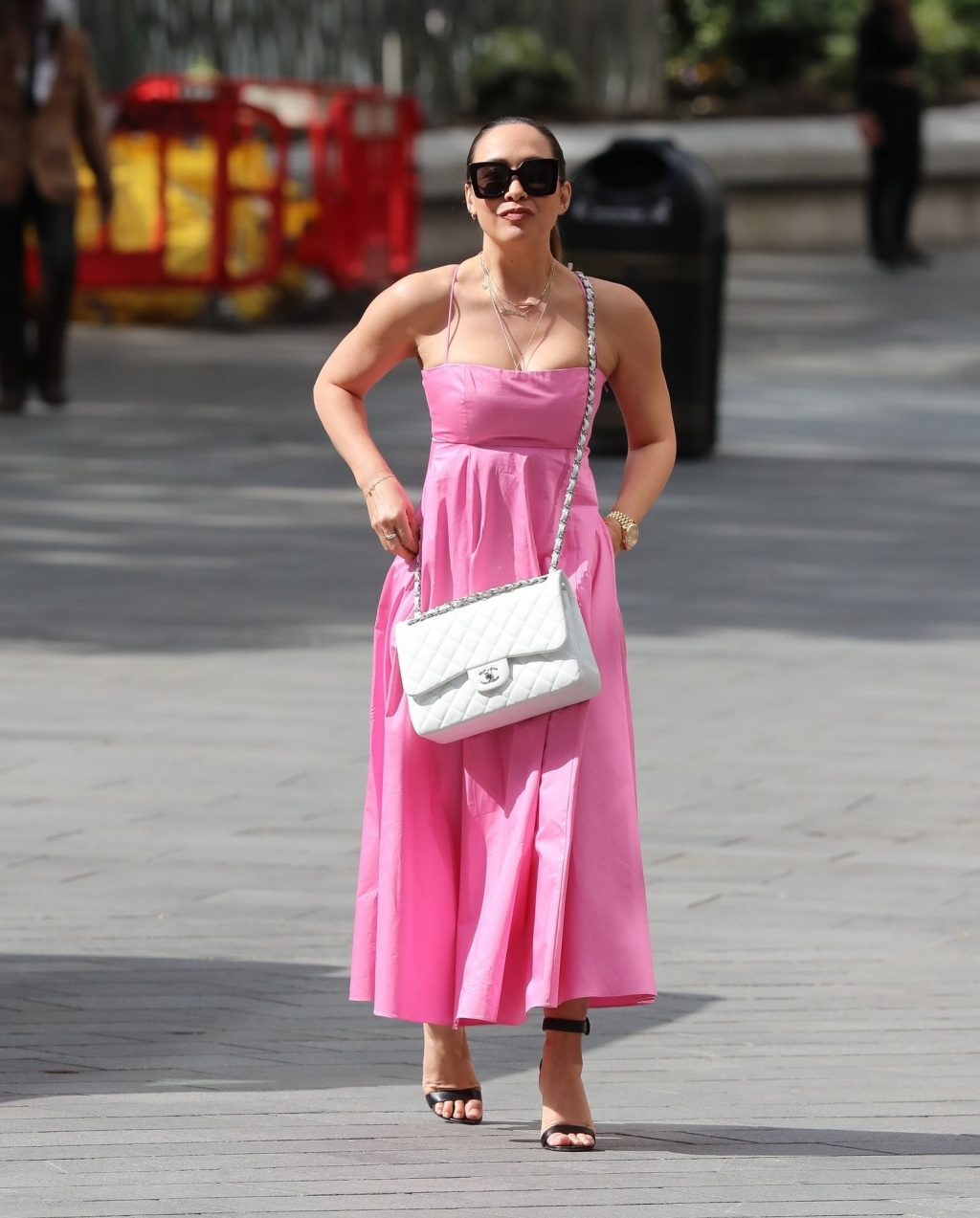 Myleene Klass Is Pictured Flawless Arriving at Global Offices (29 Photos)