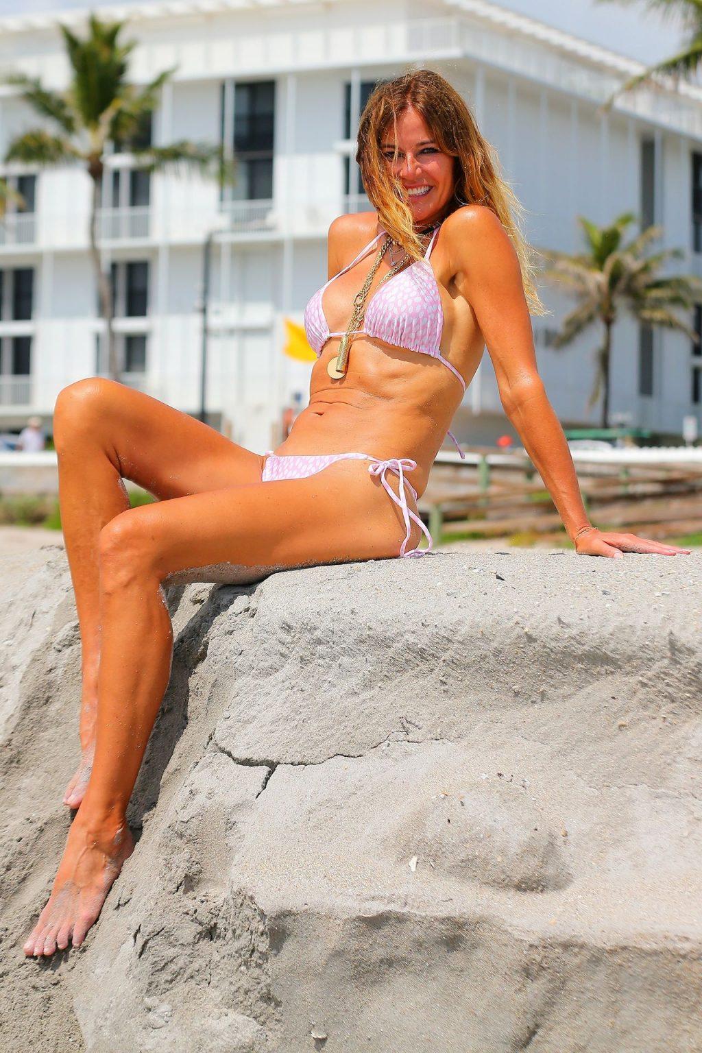 Kelly Bensimon Shows Off Her Bikini Fit Body (17 Photos)