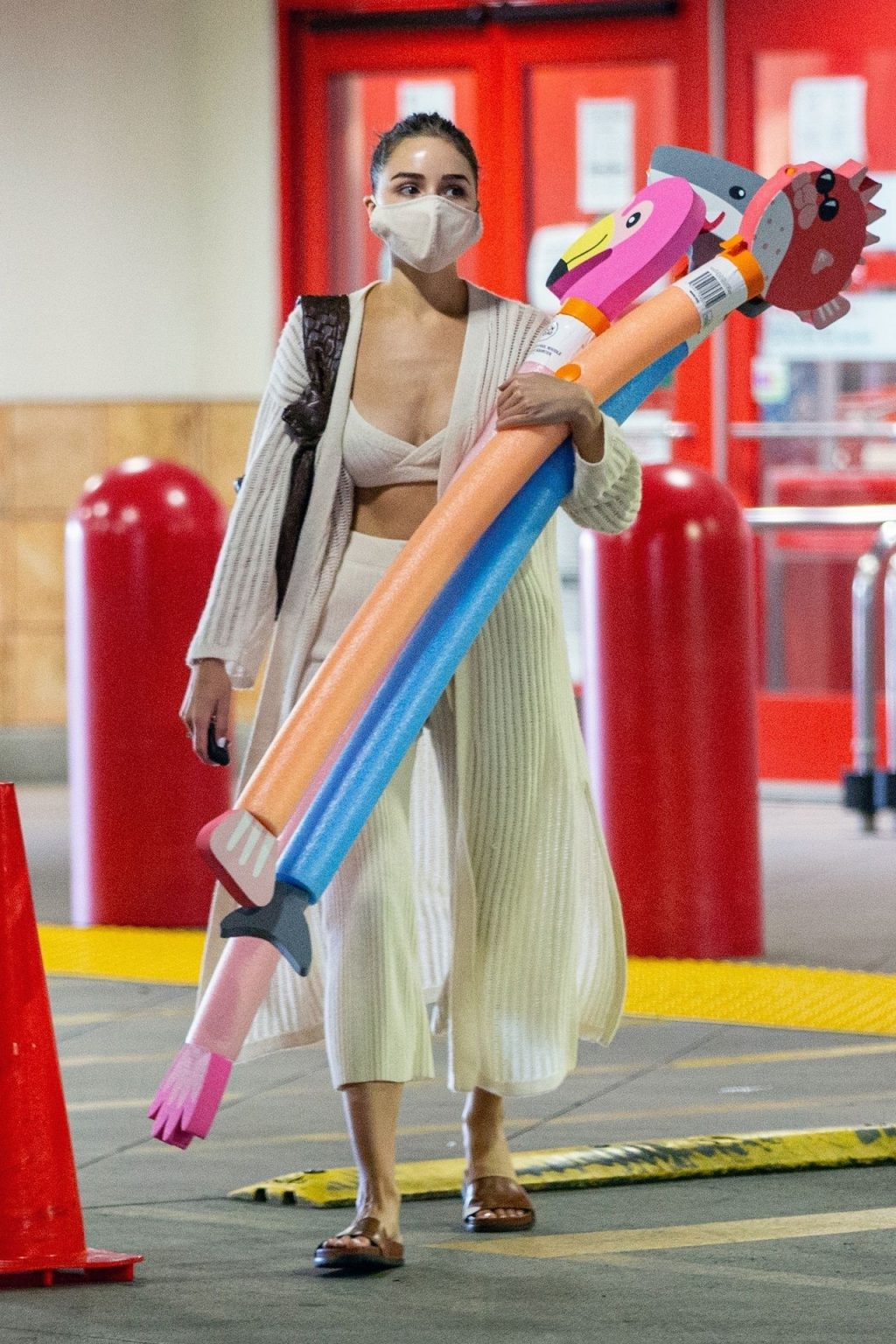 Olivia Culpo Shops at Target for Pool Toys and Flowers (30 Photos)