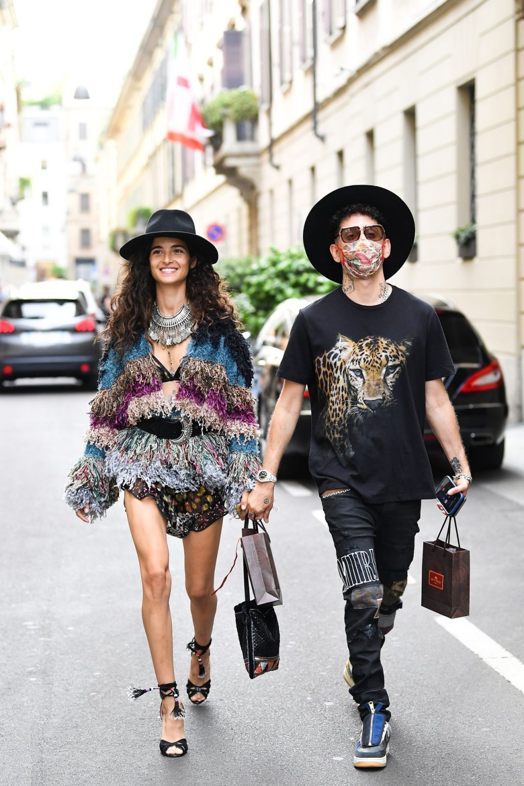 Leggy Chiara Scelsi & Darkwaynesantana Are Seen in Milan (48 Photos)