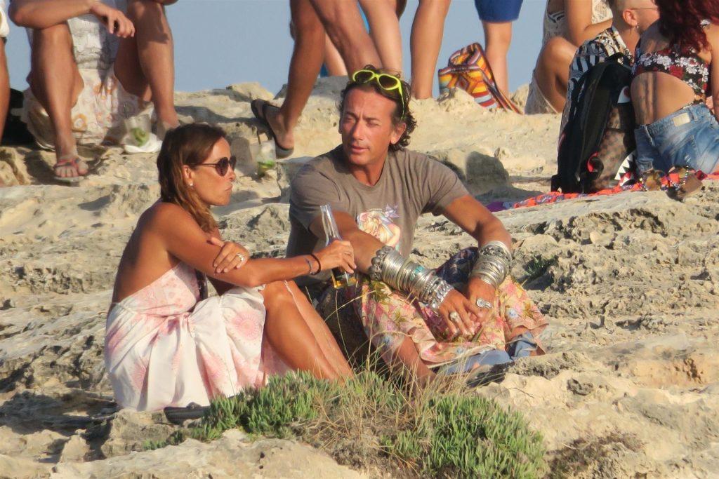 Soldano Kunz Enjoys a Nude Day on the Beach with Cristina Parodi in Formentera (35 Photos)