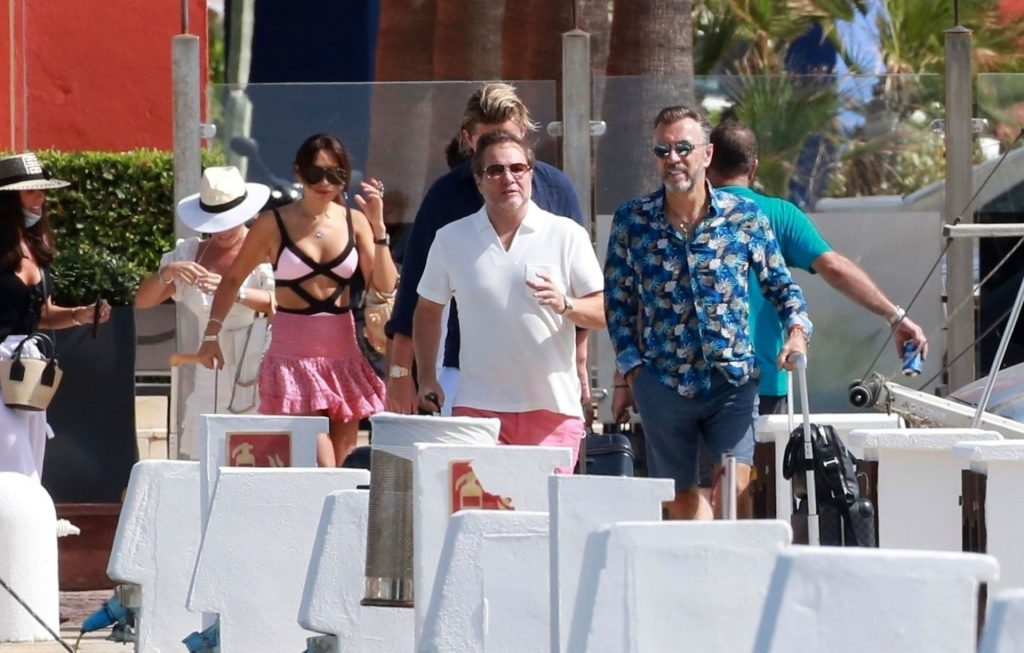 Duncan Bannatyne & Nigora Whitehorn Enjoy a Boat Trip on a Luxury Yacht in Spain (58 Photos)