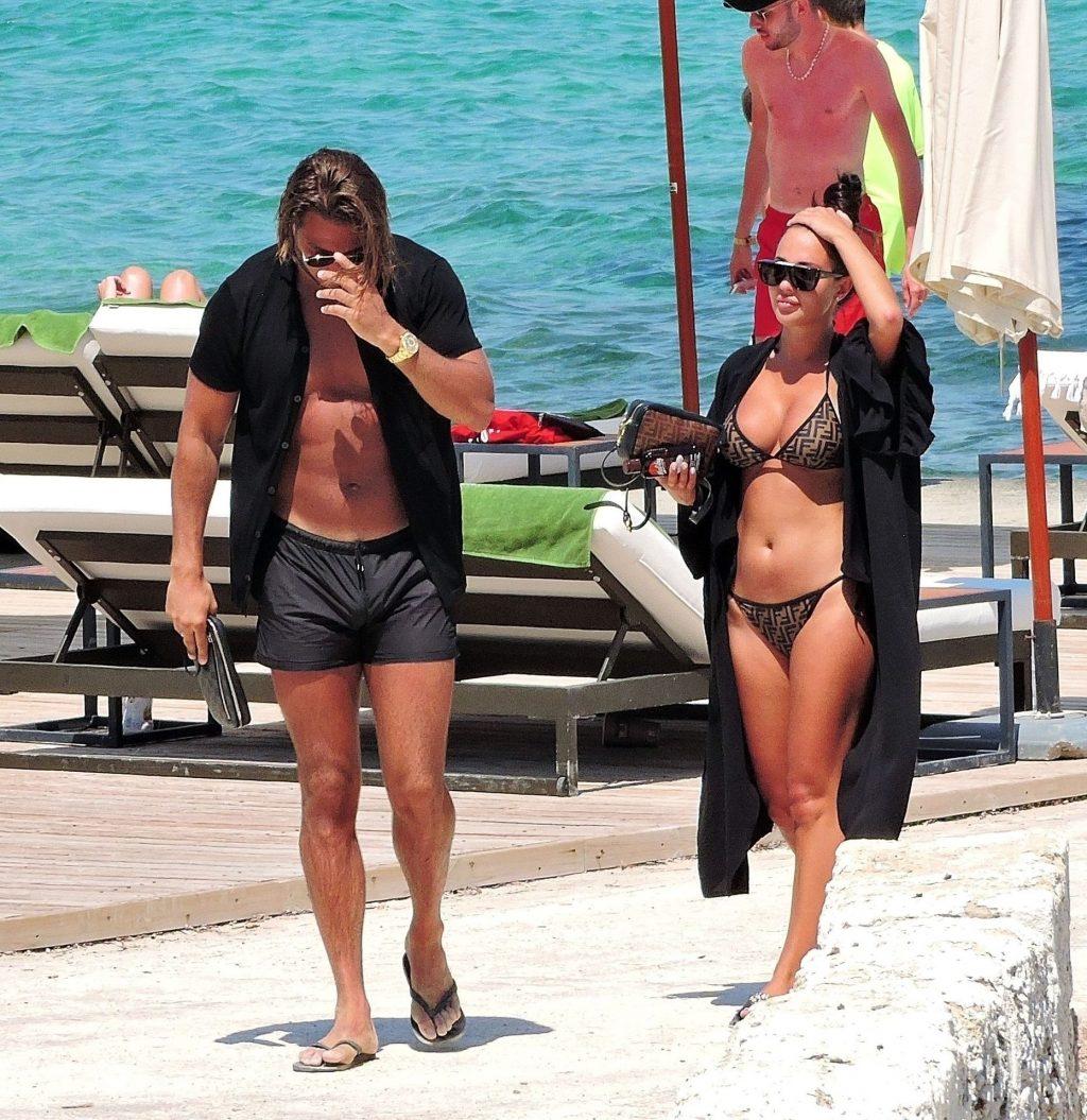 James Lock & Yazmin Oukhellou Relax and Sunbath in Majorca (30 Photos)