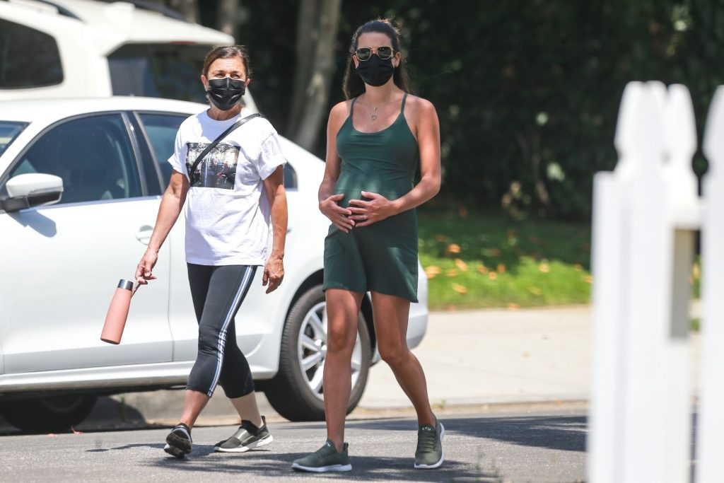 Pregnant Lea Michele Steps Out for a Walk in Santa Monica (48 Photos)