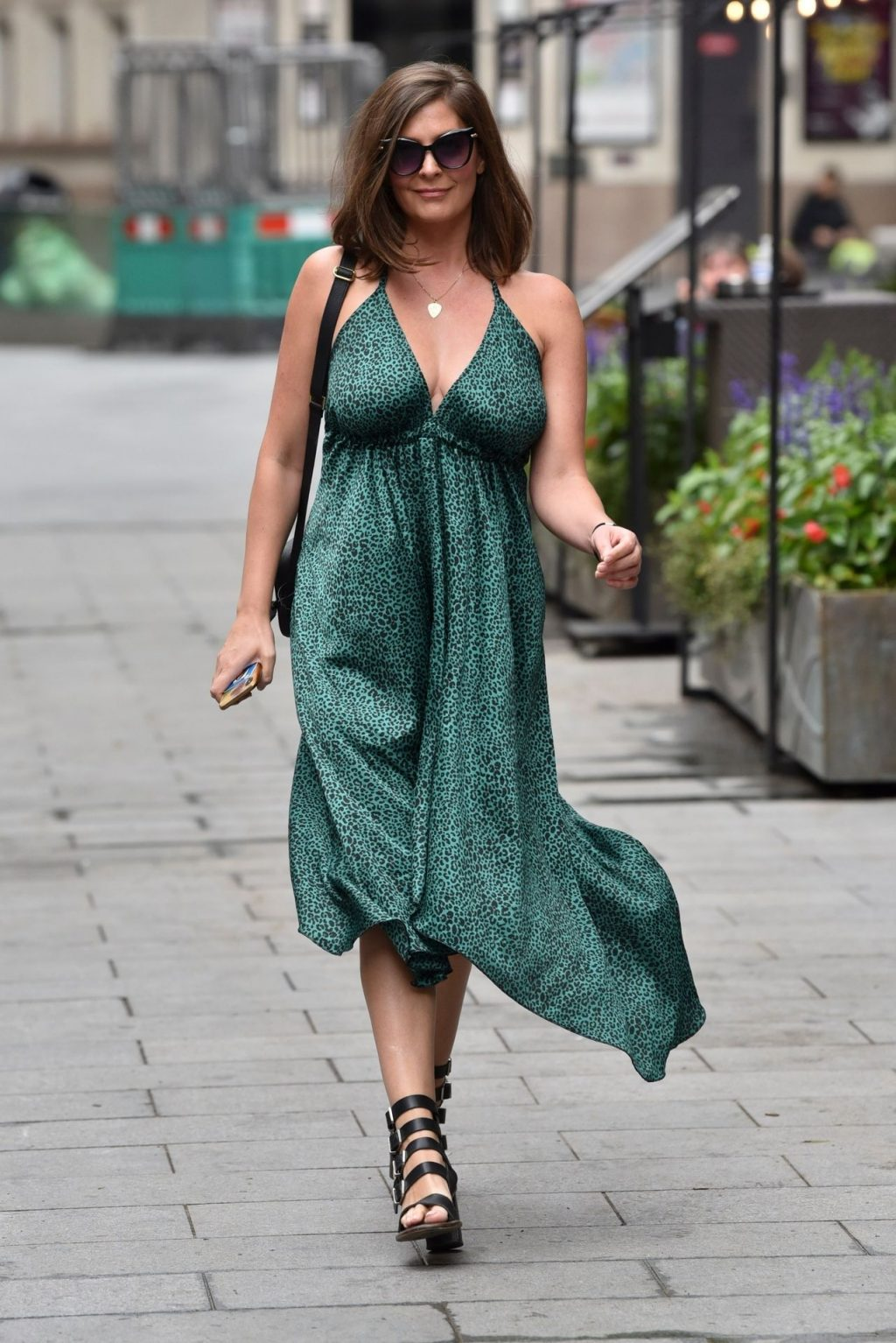 Sexy Lucy Horobin Is Pictured Arriving at the Global Studios (49 Photos)