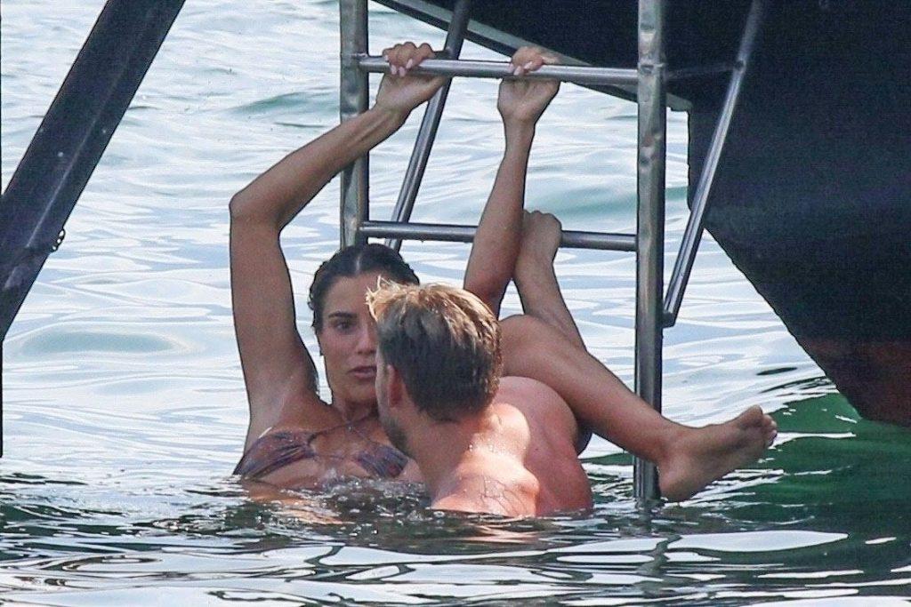 Nicklas Bendtner & Philine Roepstorff Have Some Fun in Tremezzo (59 Photos)