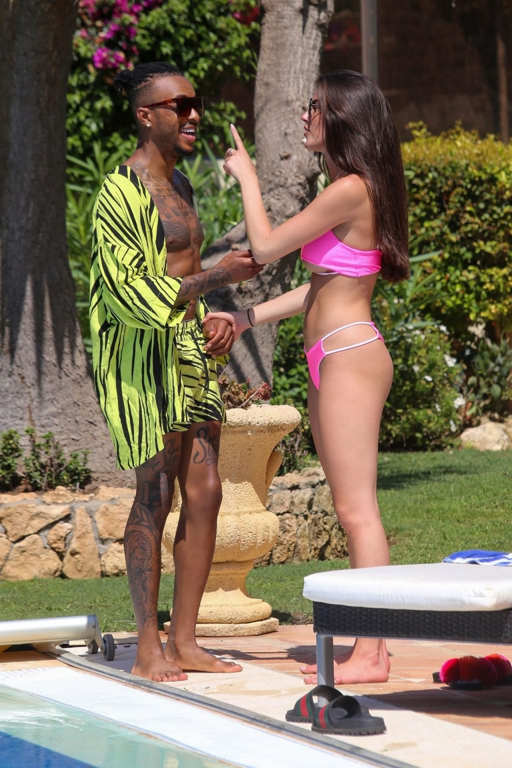 Rebecca Gormley & Biggs Chris are in a Playful Mood Whole on Holiday in Marbella (75 Photos)