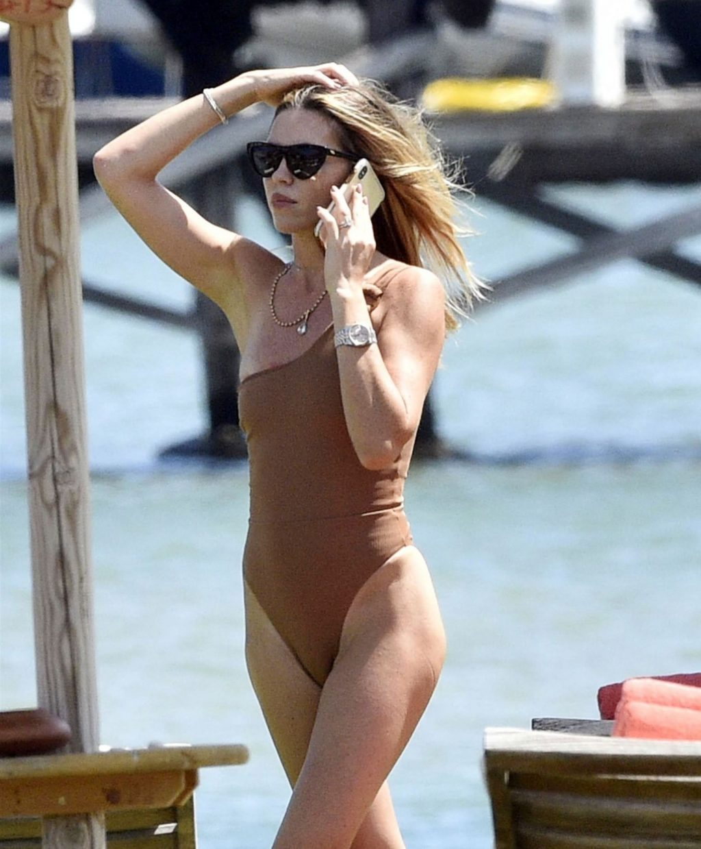Abbey Clancy & Peter Crouch Enjoy a Romantic Holiday in Italy (32 Photos)