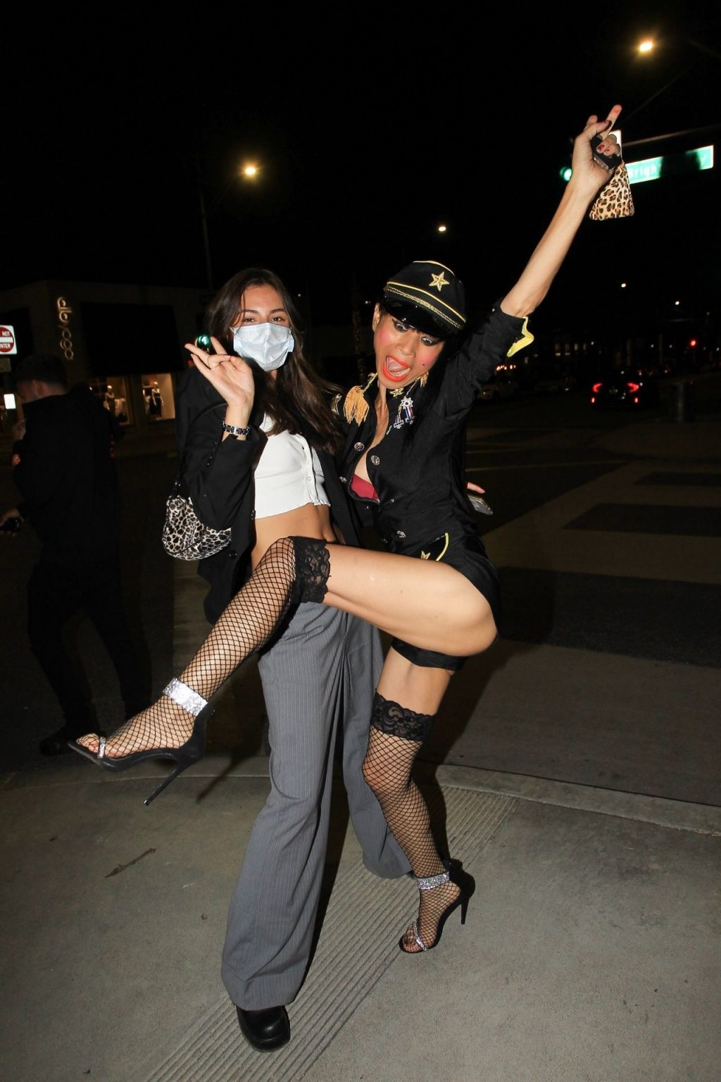 Sexy Bai Ling Poses with Her Fans in Beverly Hills (14 Photos)