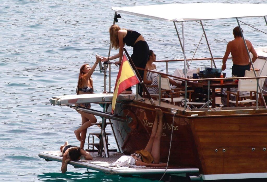 Sexy Chloe Jane Enjoys the Waters of Ibiza (19 Photos)