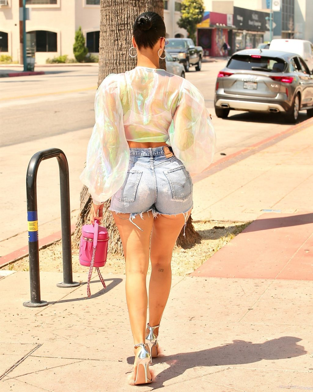 Draya Michele Puts on a Leggy Display in LA (44 Photos)