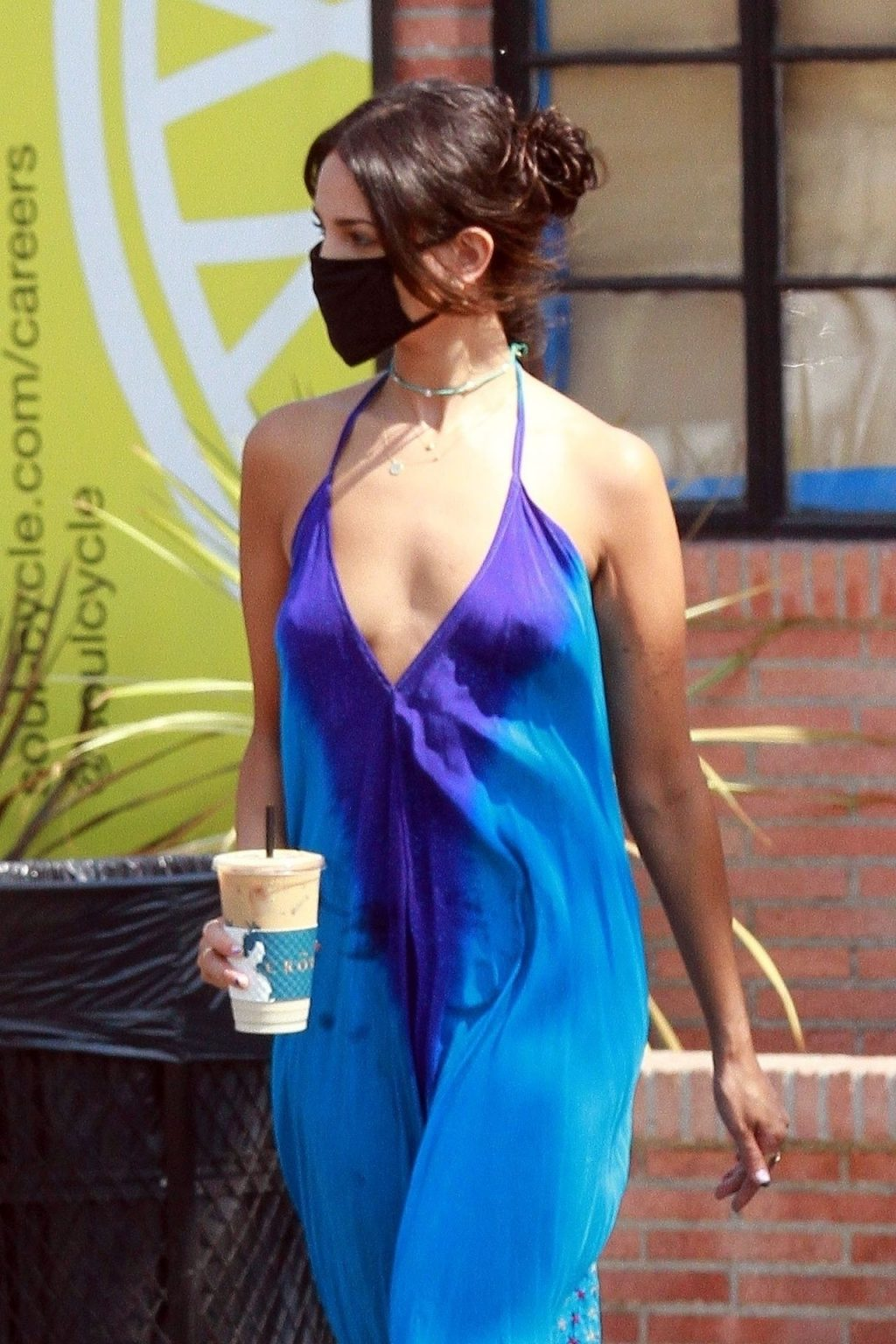 Braless Eiza Gonzalez is a Vision in Blue (33 Photos)