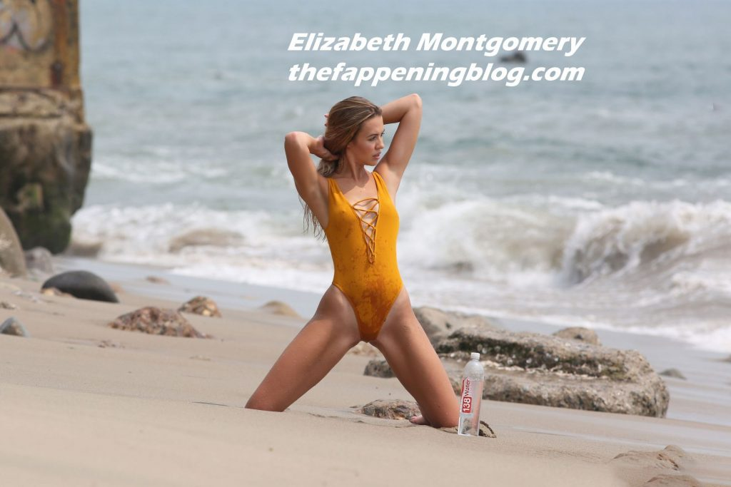 Elizabeth Montgomery Poses in a Sexy Swimsuit for 138 Water in Malibu (116 Photos)