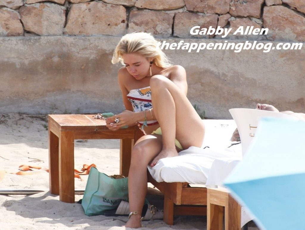 Gabby Allen Shows Off Her Sultry Beach Body in a Skimpy Little Bikini (24 Photos)
