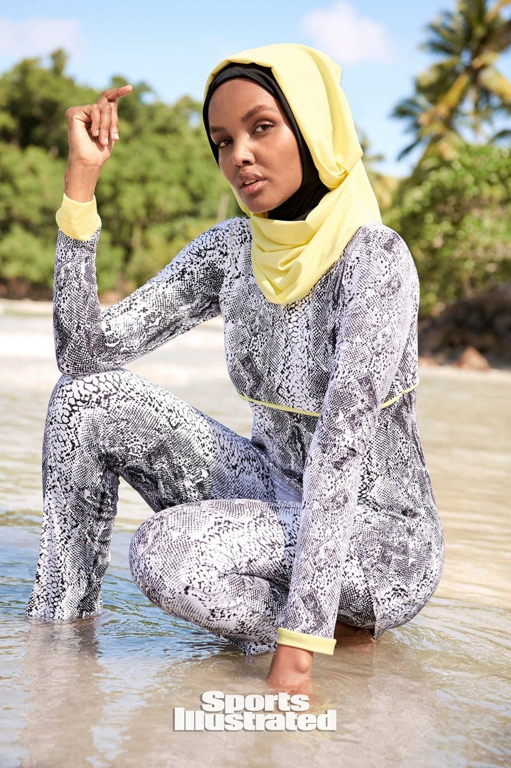 Halima Aden Sexy – Sports Illustrated Swimsuit (45 Photos)