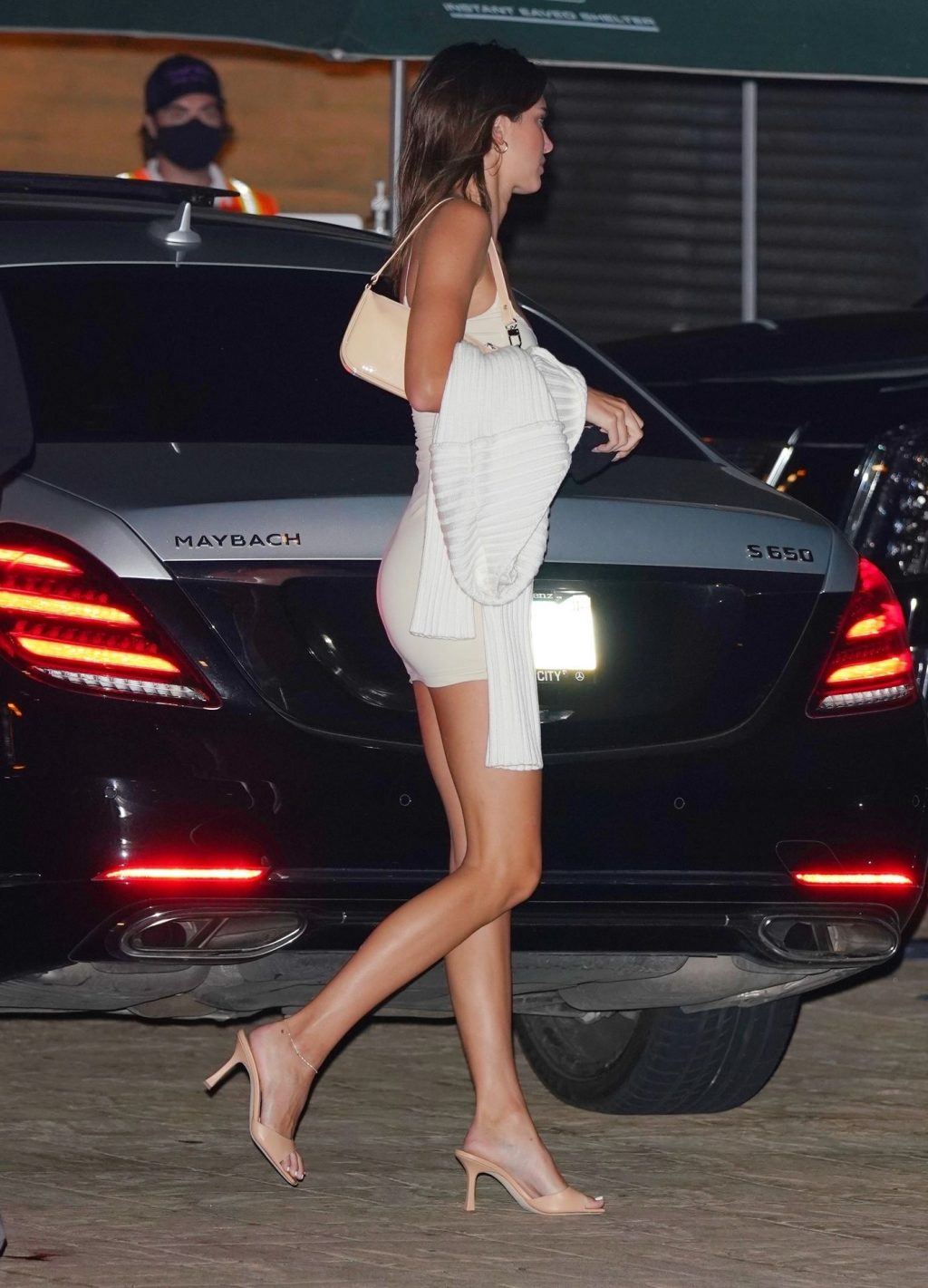 Kendall Jenner Gets Leggy as She Arrives at Nobu (21 Photos)