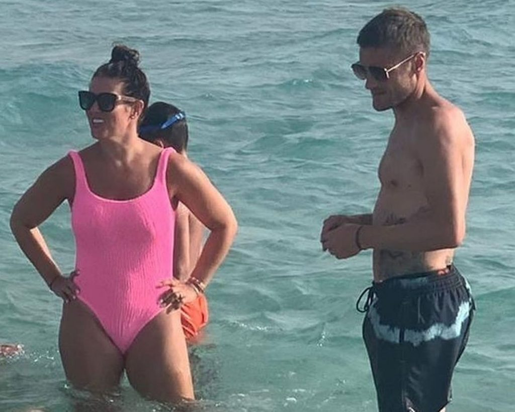 Jamie Vardy Enjoys a Day with His Wife Rebekah Vardy in Ibiza (67 Photos)