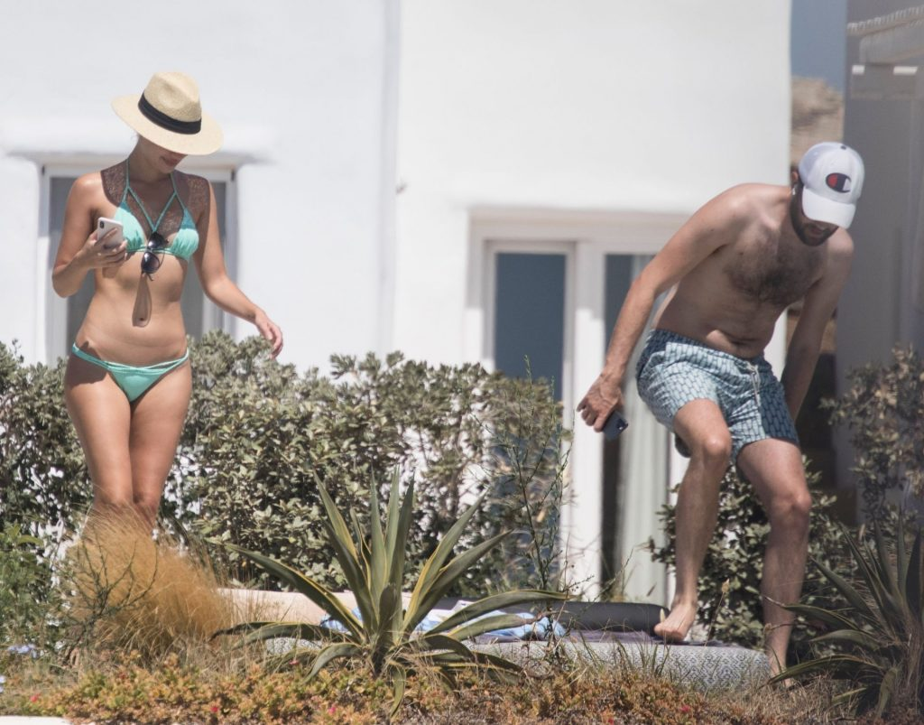 Jack Whitehall & Roxy Horner Take Their New Love to Greece (13 Photos)