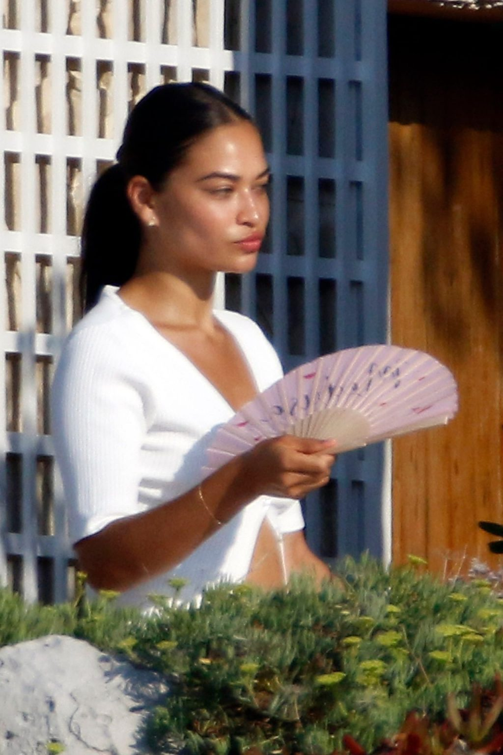 Braless Shanina Shaik Enjoys a Sunny Day with Her Friends (150 Photos)