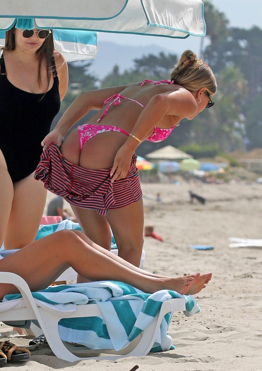 Sofia Richie Shows Off Her Curves on the Beach in Santa Barbara (15 Photos)