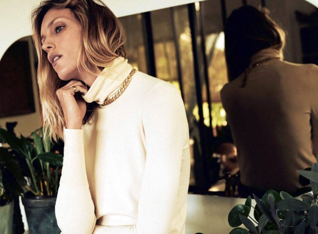 Anja Rubik Poses for the Autumn 2020 Collection of the Spanish Brand Zara (14 Photos)