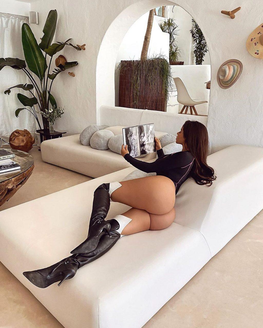 Demi Rose Enjoys a Night Out in Ibiza (21 Photos)