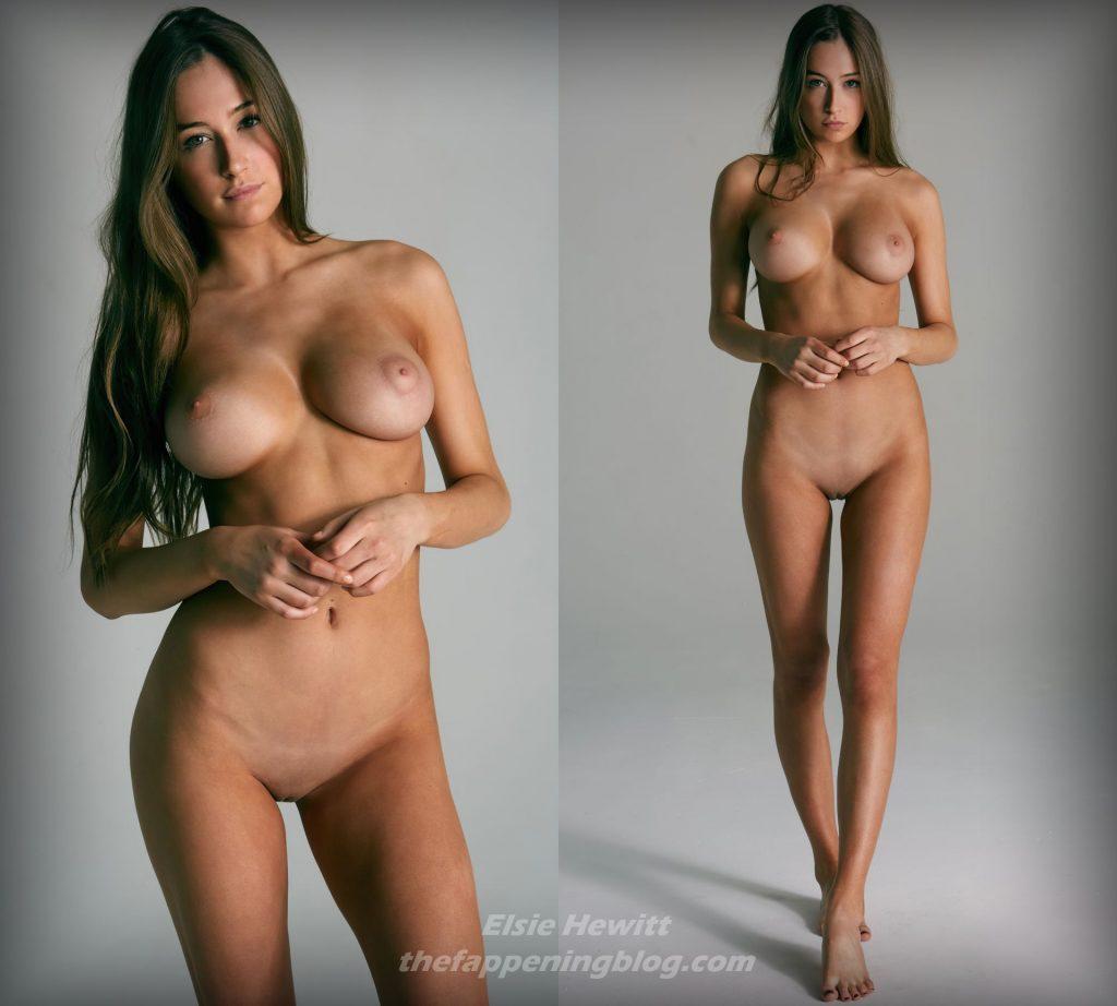 Elsie Hewitt Nude (1 Collage Photo)