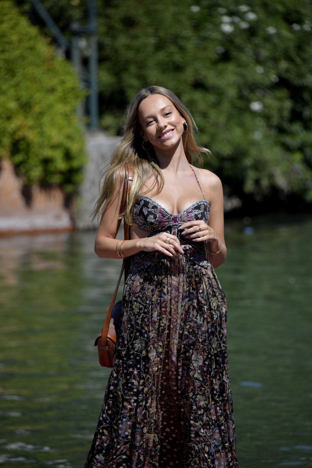 Ester Exposito Shows Off Her Cleavage in Venice (76 Photos)