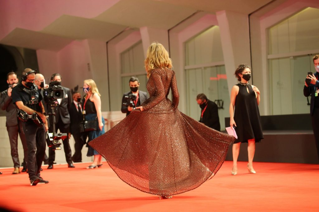 Isabel May Stuns on the Red Carpet of the 77th Venice Film Festival (30 Photos)