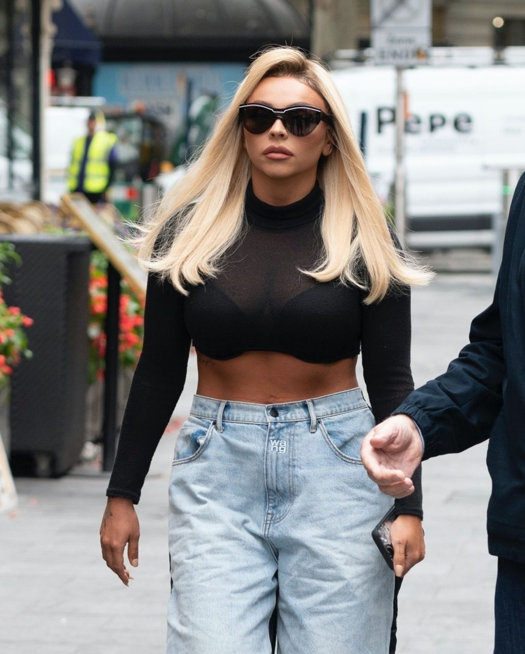 Jesy Nelson Displays Her Cleavage in London (41 Photos)