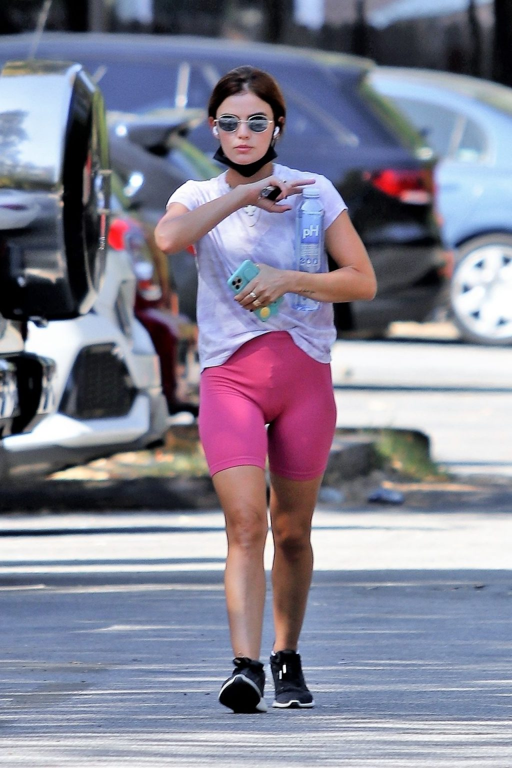 Lucy Hale Shows Off Her New Hair Color while Out for a Hike (29 Photos)