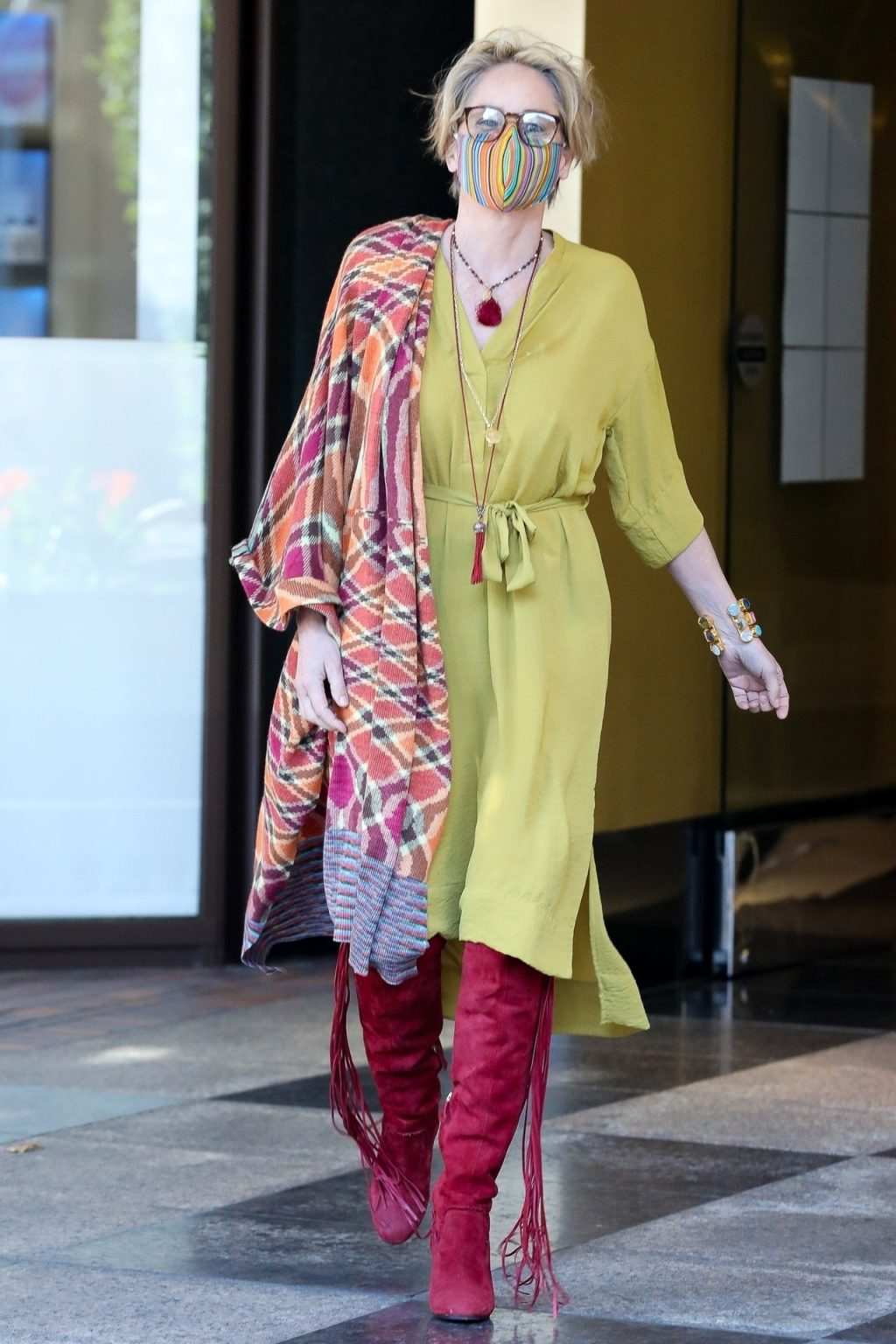 Sharon Stone is a Happy Lady After Her Spa Day (61 Photos)