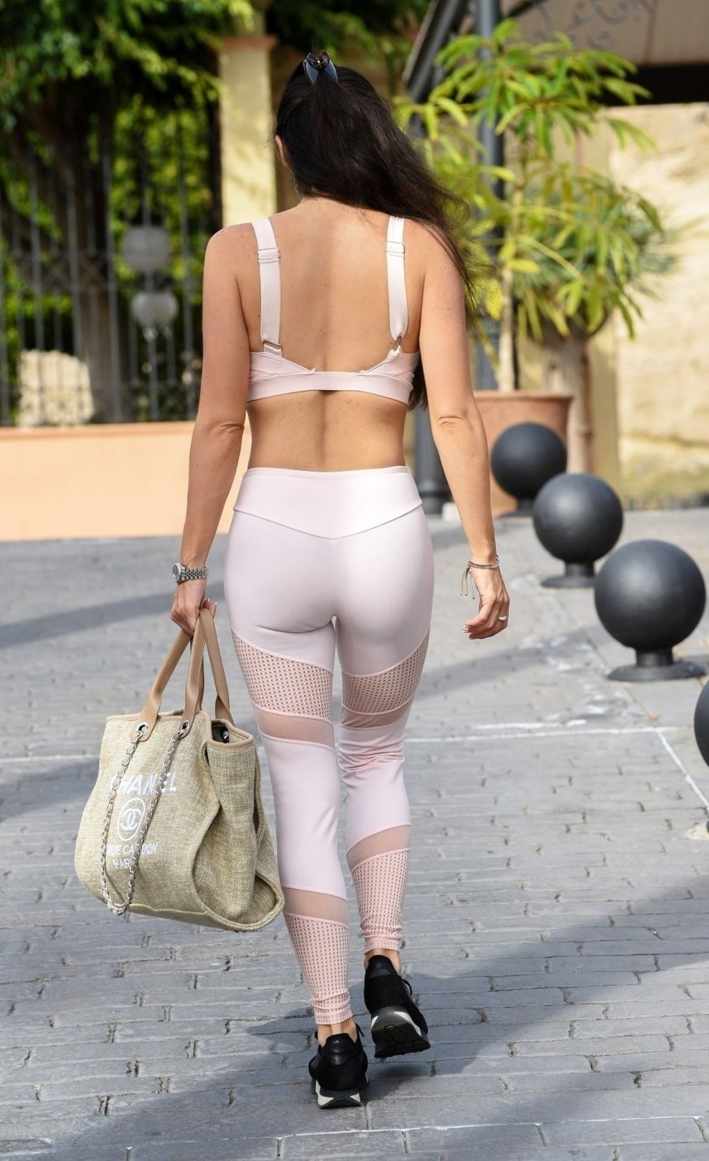 Casey Batchelor is Seen Leaving Her Hotel in Tenerife (6 Photos)