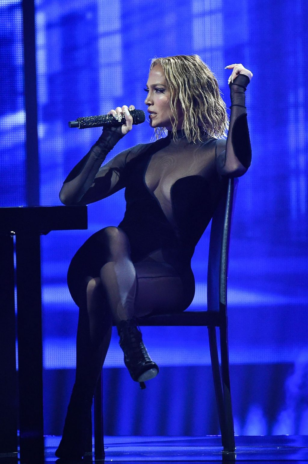 JLo Displays Her Boobs at the 2020 American Music Awards (46 Photos)