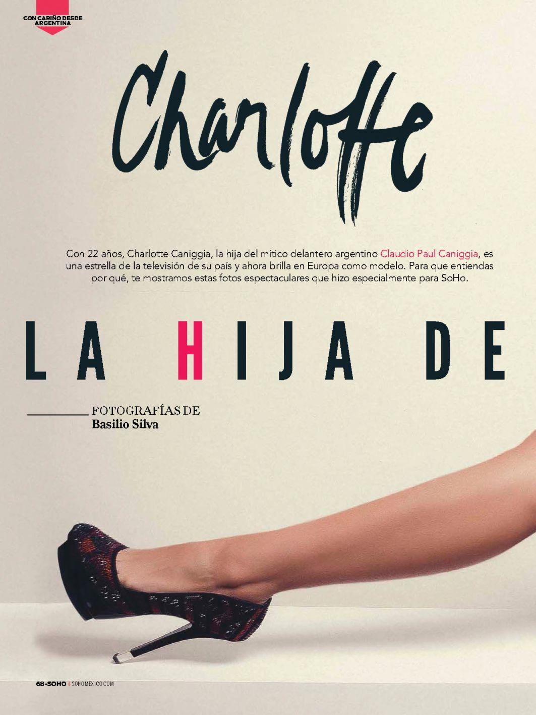 Charlotte Chaniggia topless pics